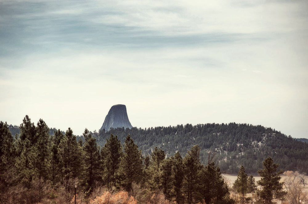 Devils Tower Wyoming October 2012